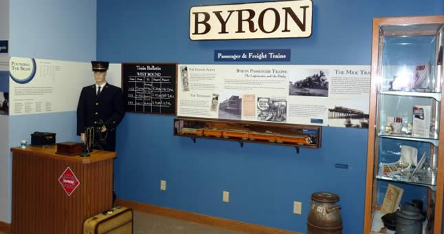 Byron's Railroad Era
