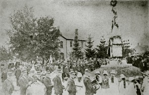 Memorial Day in Byron around 1900